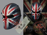 Knight Tactical Airsoft Mask Wargame Paintball Motorcycle Halloween Full Face Skull
