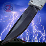 Lightning OTF Dual Action Silver Automatic Knife - TAIWAN (discontinued)