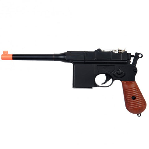Double Eagle M32 Mauser C96 Spring Pistol Airsoft Gun