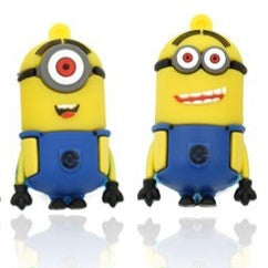 MINIONS Despicable Me USB Flash Drive 2.0 Kevin, Stuart, Bob   16gb