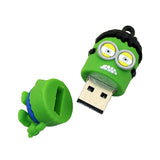 SuperHero MINIONS Despicable Me USB Flash Drive 2.0 Hulk Hulkminion- 16gb