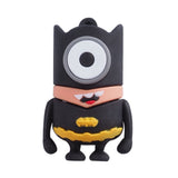 Super Hero MINIONS Despicable Me USB Flash Drive 2.0 Batman Batminion - 32gb