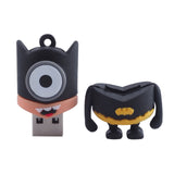 SuperHero MINIONS Despicable Me USB Flash Drive 2.0 Batman Batminion - 16gb