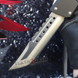 Delta Force Dark Knight 440C OTF Knife CNC Highest Quality - Tanto Xtreme Switchblade