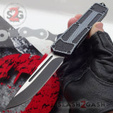 Delta Force Carbon Fiber Scarab D/A OTF Automatic Knife - Drop Point Switchblade