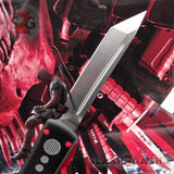 Slash2Gash S2G Deadpool OTF Knife Delta Force Black Red Tanto Automatic Switchblade CNC Highest Quality