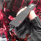 S2G Tactical Knives Deadpool OTF Knife Switchblade Black Red Automatic CNC Highest Quality slash2gash