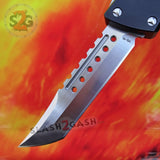 Delta Force Dark Knight VG-10 OTF Automatic Knife CNC Highest Quality - Tanto Xtreme Switchblade