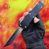 Delta Force Dark Knight VG-10 OTF Automatic Knife CNC Highest Quality - Tanto Switchblade