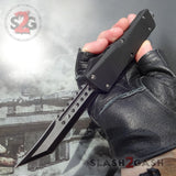 Delta Force Dark Knight OTF Automatic Knife D/A Switchblade - Tanto Xtreme