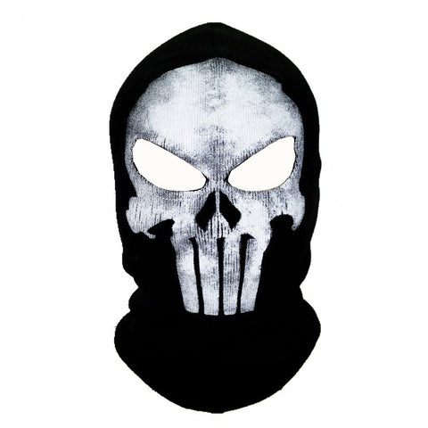 Punisher Mask 5 Styles Superhero Balaclava Men Ghost Skull Full Face Warm Mask Hood Beanie