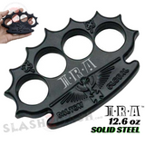 Black Knuckles Spiked Dalton Global Paperweight Irish Devil Steel Pointed Duster Buckle - IRA