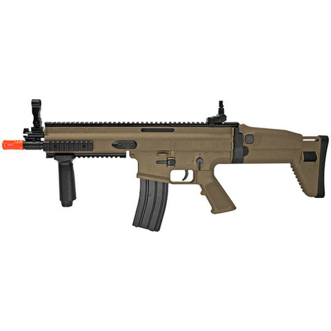 FN Herstal Officially Licensed SCAR-L Airsoft Gun Spring Powered Rifle with Rail System