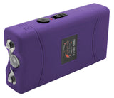 SURVIVOR High Voltage Rechargeable STUN GUN w/ LED & Holster Purple