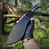 Scorpion Kukri Machete Knife G10 w/ Spikes & Sheath 9Cr18MoV - slash2gash S2G