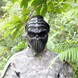 Spine Tingler Tactical Mask Airsoft Wargame Paintball Motorcycle Halloween Full Face Skull
