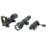Swiss Arms® Optics Accessory 3 pc Kit - Universal Airsoft Laser, Flashlight, Red Dot Reflex Sight