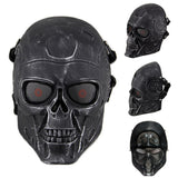 Terminator Tactical Mask Airsoft Wargame Paintball Scary Full Face Skull Mask