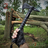 USMC Marines Elite Tactical Tomahawk Throwing Axe w/ Survival Kit M-X001 Officially Licensed Slash2Gash S2G