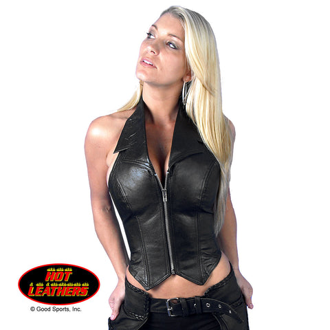 Hot Leathers Ladies' Open Back Halter
