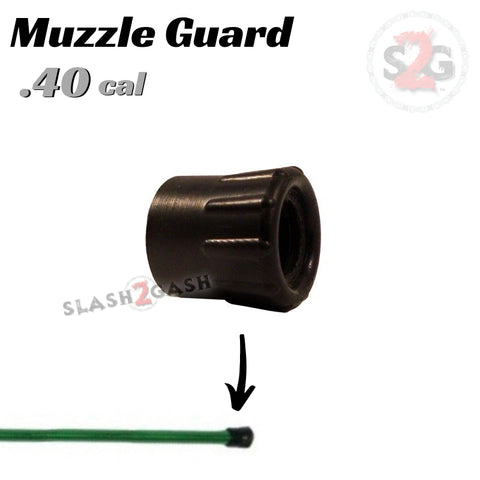 Muzzle Guard .40 Caliber Blowgun Accessory - Tip Cover