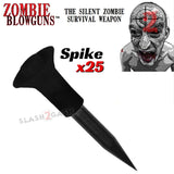 Zombie Blowgun Darts .40 Caliber Avenger - Spike Stinger Nail Dart x25 count/pcs