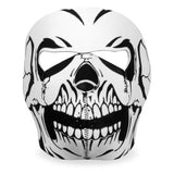 Hot Leathers B/W Skull Neoprene Face Mask