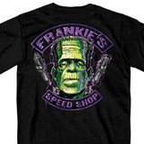 Hot Leathers Frankie's Speed Shop Double Sided Halloween T-Shirt