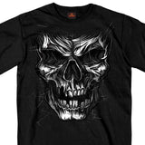 Hot Leathers Tomb Skull Short Sleeve T-Shirt Custom slash2gash