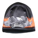 Hot Leathers Sublimated Freedom Eagle Beanie 3D Art