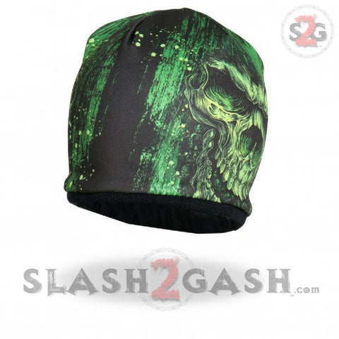 Hot Leathers Sublimated Shredder Skull Beanie 3D Art