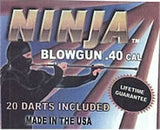 "Ninja 48"" Blowgun .40 cal w/ 20 Darts - 2PC Pink Camo - Avenger Blowguns USA"