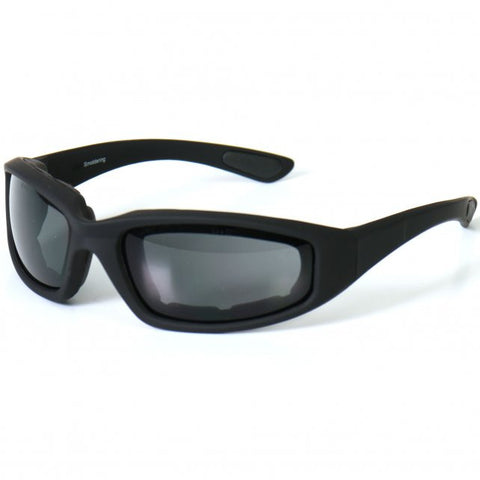 Hot Leathers Legendary Sunglasses with Padding and Smoke Lenses