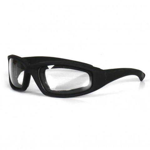 Hot Leathers Legendary Sunglasses with Padding and Clear Lenses S2G slash2gash