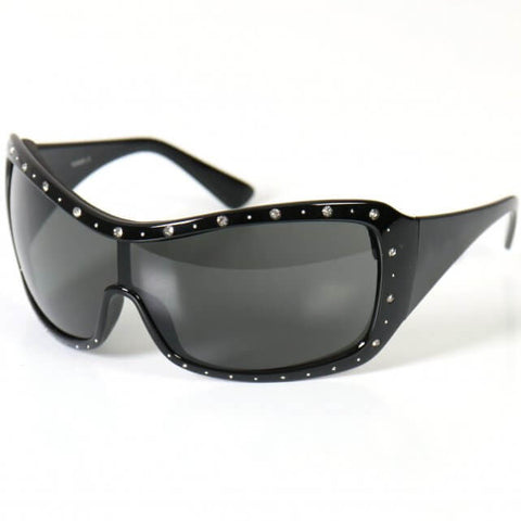 Hot Leathers Marilyn 2 Ladies Sunglasses w/ Pads and Rhinestones S2G slash2gash