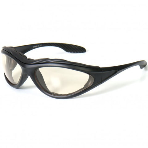 Hot Leathers Hero UV Active Sunglasses w/Transforming Lenses Removable Pads S2G slash2gash