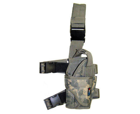Right Handed Universal Tactical Drop Leg Holster - ACU Digital Camo