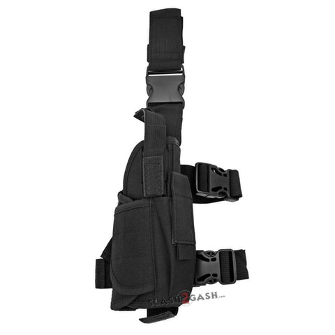 Right Handed Universal Tactical Drop Leg Holster - Black
