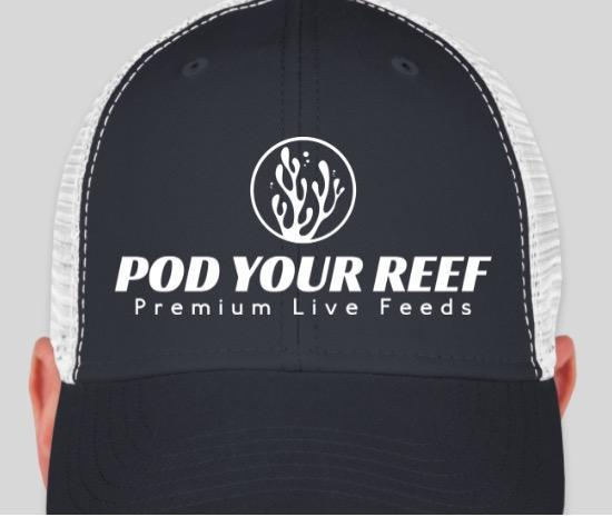 Pod Your Reef Hat Pod Your Reef Trucker Hat