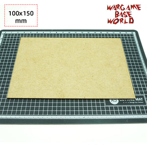 MDF bases - 100x150mm bases
