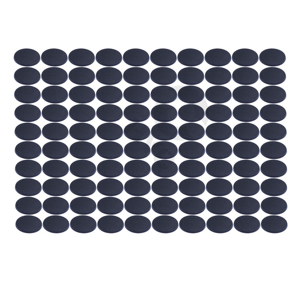 warhammer bases - Lot of 100 60mm round plastic bases - Plastic wargame bases - HeyyoucCast Workshop