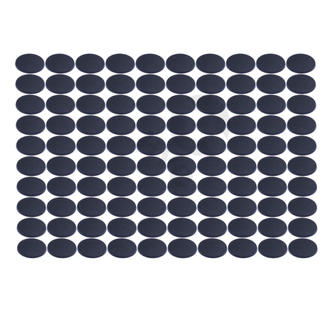 Lot of 100 60mm round plastic bases - WargameBase Store