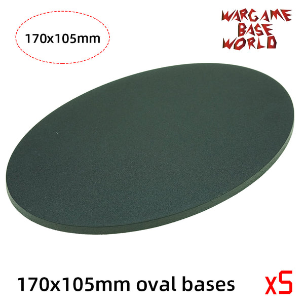 170x105mm Oval Base - WargameBase Store