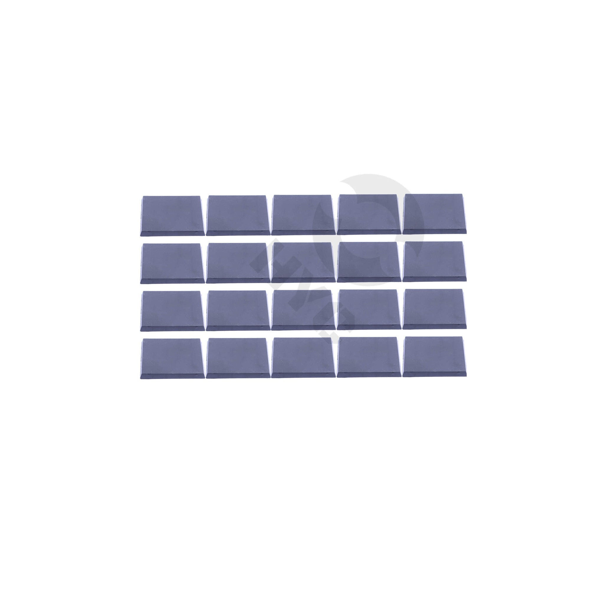 Lot of 20 50mm square miniatures bases - WargameBase Store