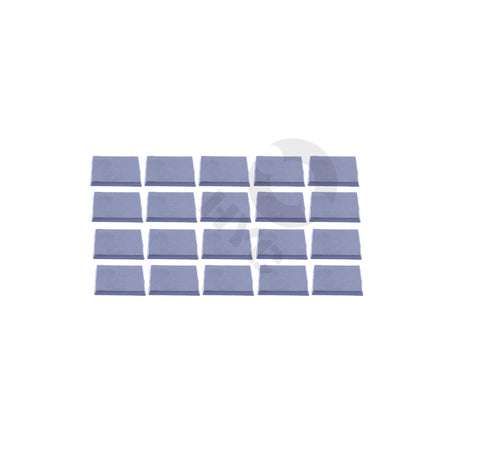 Lot of 20 40mm square bases - WargameBase Store