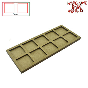 warhammer bases - Movement Tray for warhammer - 25mm square bases- 10 Models - tools - WargameBase Store