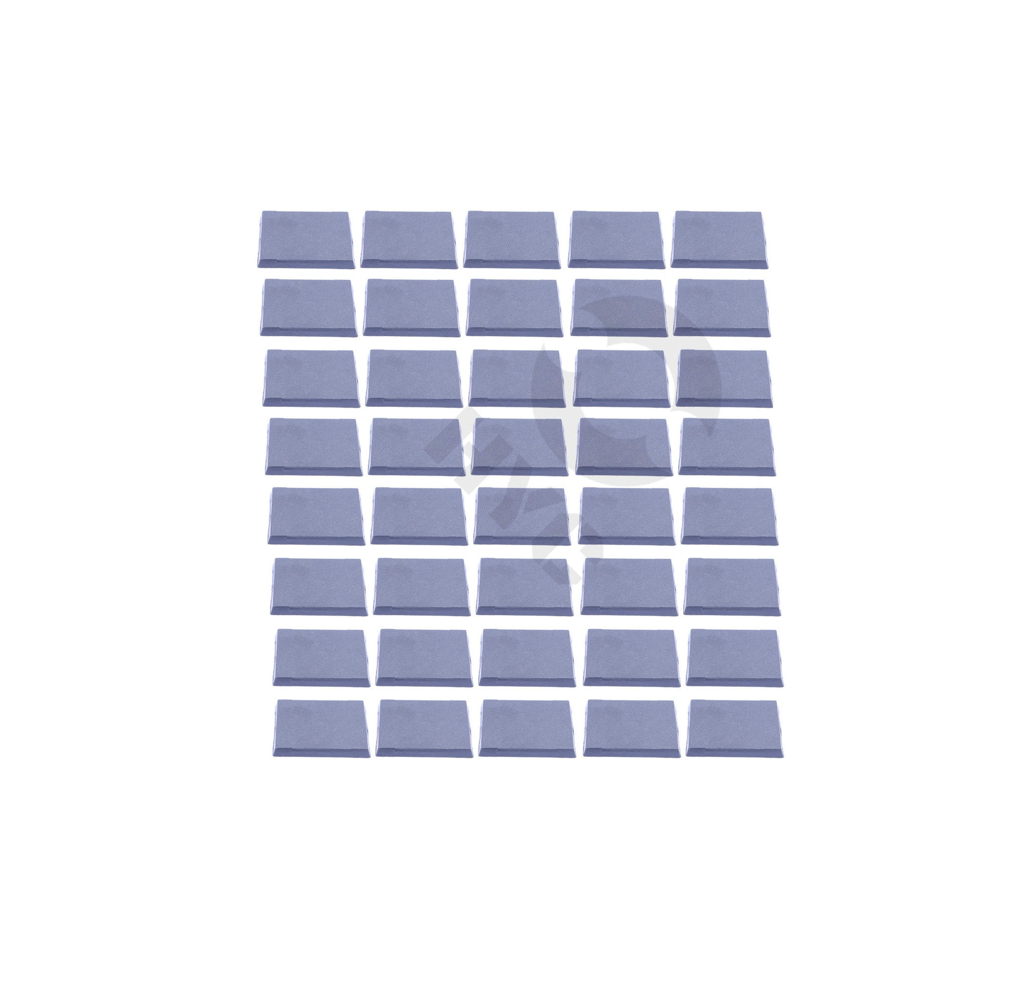 Lot of 40 40mm square bases - WargameBase Store