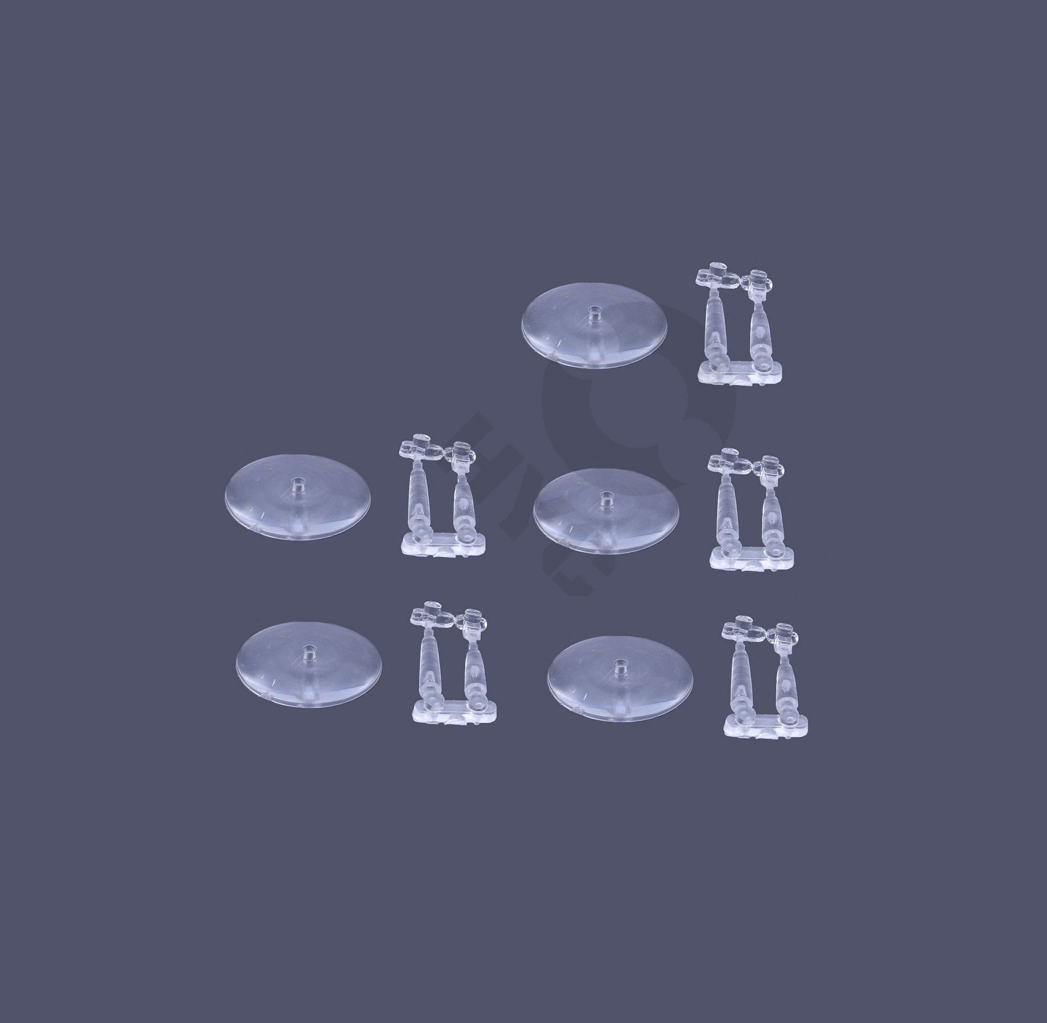 warhammer bases - Lot of 5 Flying Stems with 32mm Flying Bases - Flying Bases - HeyyoucCast Workshop