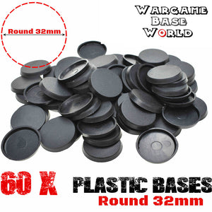 Wargame Base World - Lot of 60 32mm bases for sale - WargameBase Store