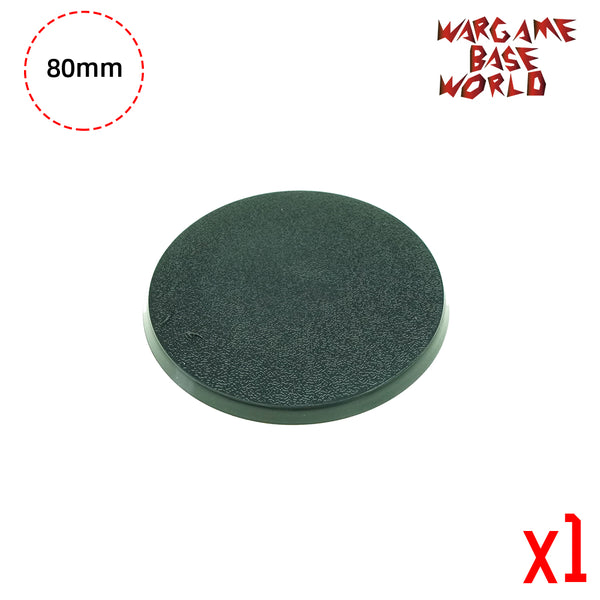 warhammer bases - Round bases - 80mm round bases - Plastic wargame bases - HeyyoucCast Workshop